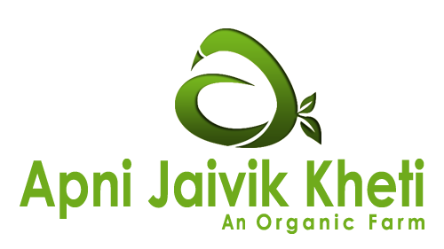 Logo of Apni jaivik kheti An Organic farm which is dedicated to produce organic product through organic farming